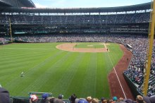 Maybe this will be my view for the World Series in Seattle.
